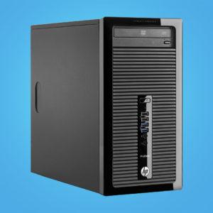 HP ProDesk käytetty pöytäkone Cimos Oy Helsinki