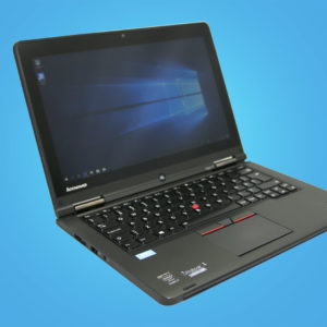 Lenovo ThinkPad Yoga 12 käytetty kannettava yrityskone Cimos Oy Helsinki
