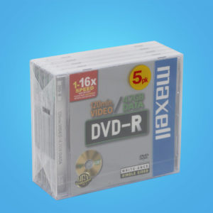 Maxell DVD-R 5-pack 4,7 GB 16x