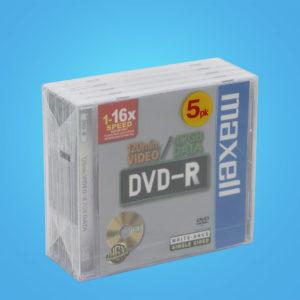 Maxell DVD-R 5-pack 4,7 GB 16x