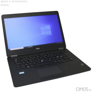 Dell E7470 käytetty kannettava tietokone Cimos Oy Helsinki