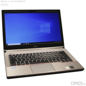 Fujitsu LIFEBOOK E744 käytetty kannettava tietokone Cimos Oy Helsinki
